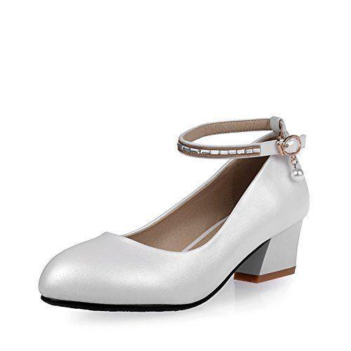 Balamasa pour femme Chunky talons Boucle Kitten-heels Matière souple  Pumps-shoes  balamasa est une marque chinois chaussures. Notre…   WomenShoesComfortable e61d529aba8c