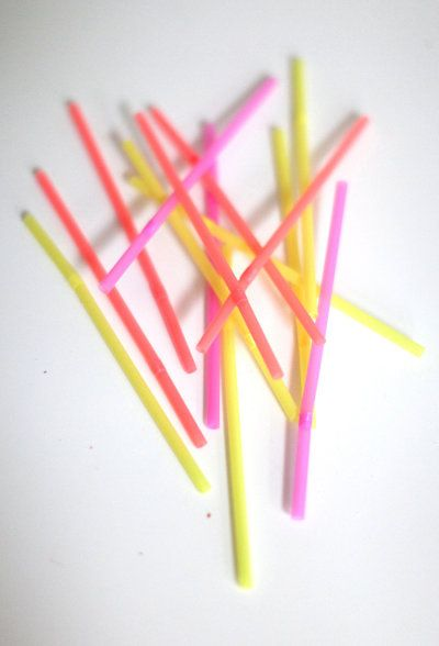 neon straws make everything better Photography and Styling by http://www.stylemepretty.com/living/