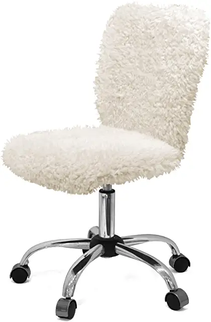 Amazon Com Faux Fur Office Chair In 2020 Desk Chair Office