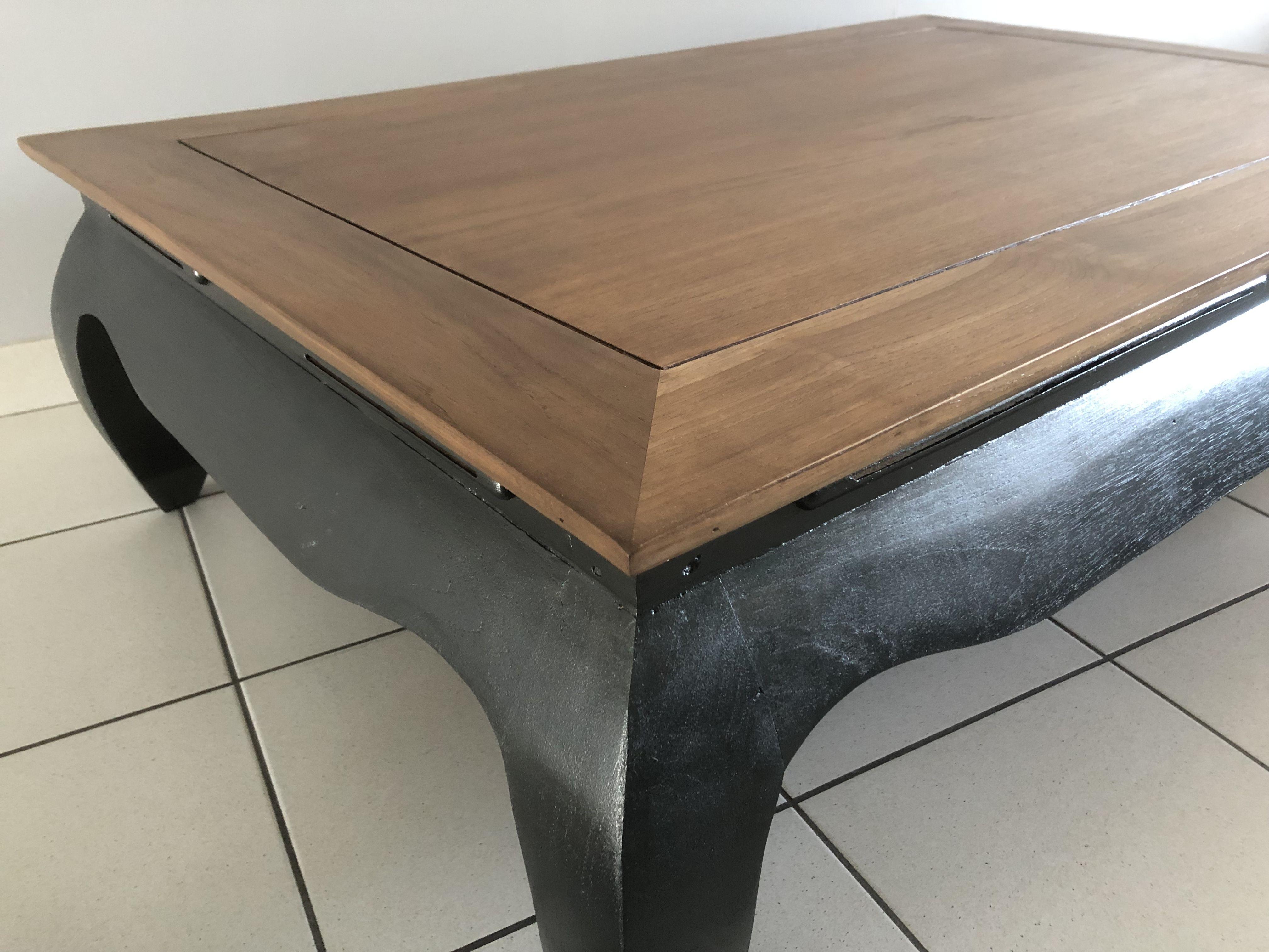 Table Basse Liberon Table Basse Peinture Noire