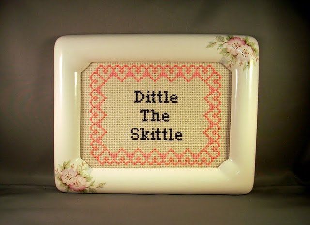 Ha!    Dittle The Skittle by katiekutthroat on Etsy