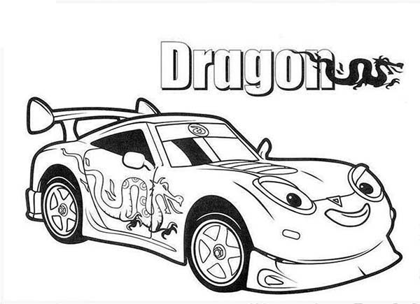 Drifter Aka Dragga The Drift Racing Car In Roary The Racing Car Coloring Pages Best Place To Color Cars Coloring Pages Race Car Coloring Pages Coloring Pages