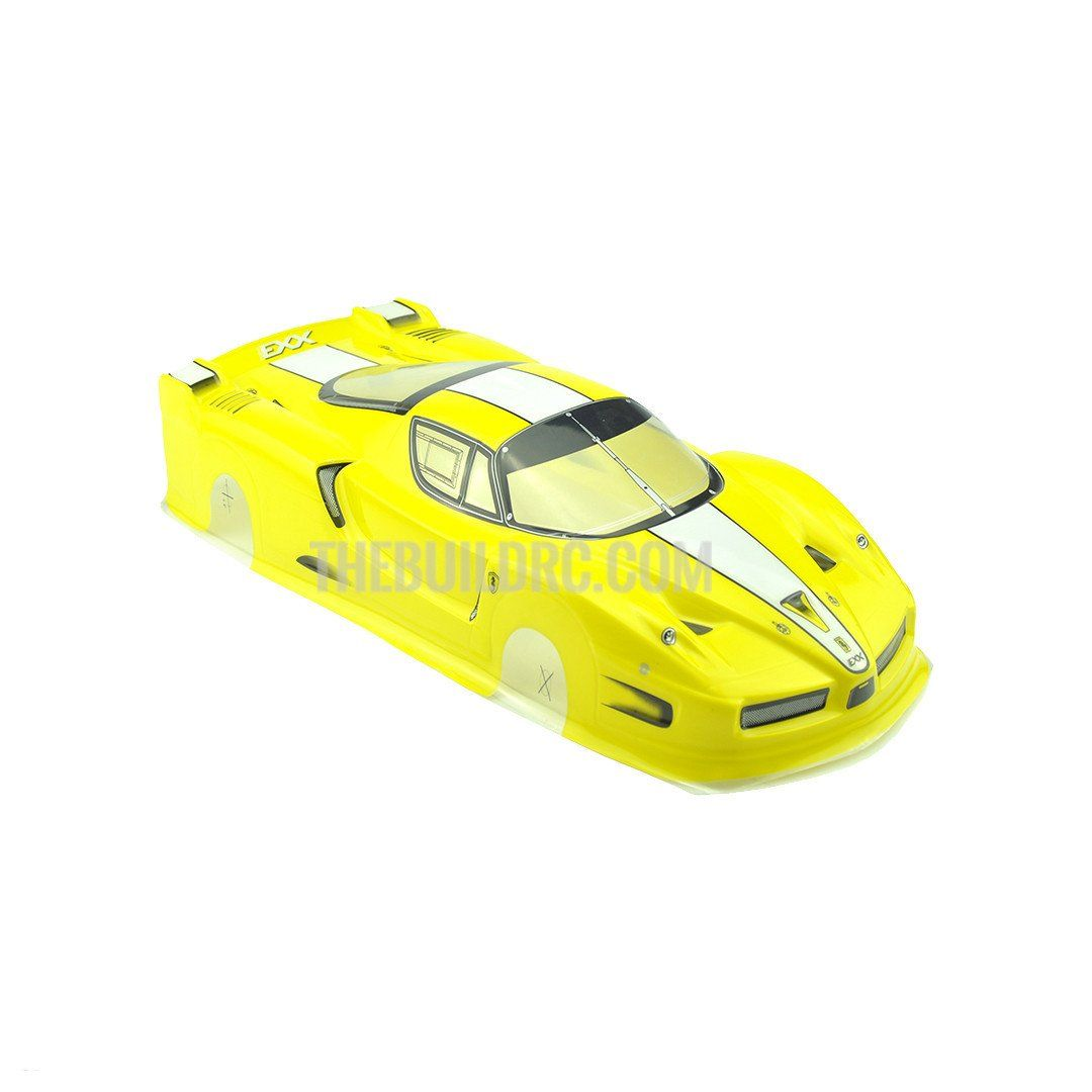 1/10 FERRARI FXX Analog Painted RC Car Body (Yellow) #ferrarifxx