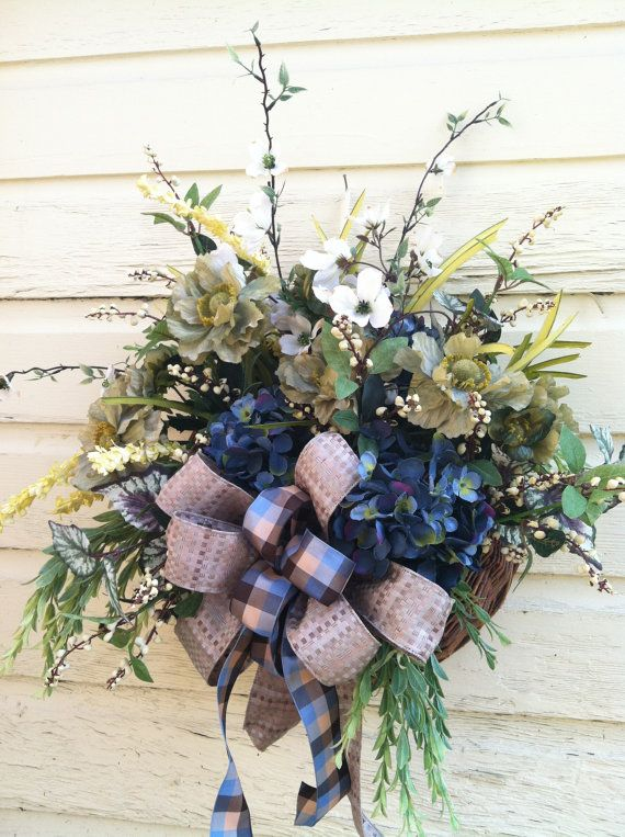 Pin on DOOR BASKET on Decorative Wall Sconces For Flowers Hanging Baskets Delivery id=93787