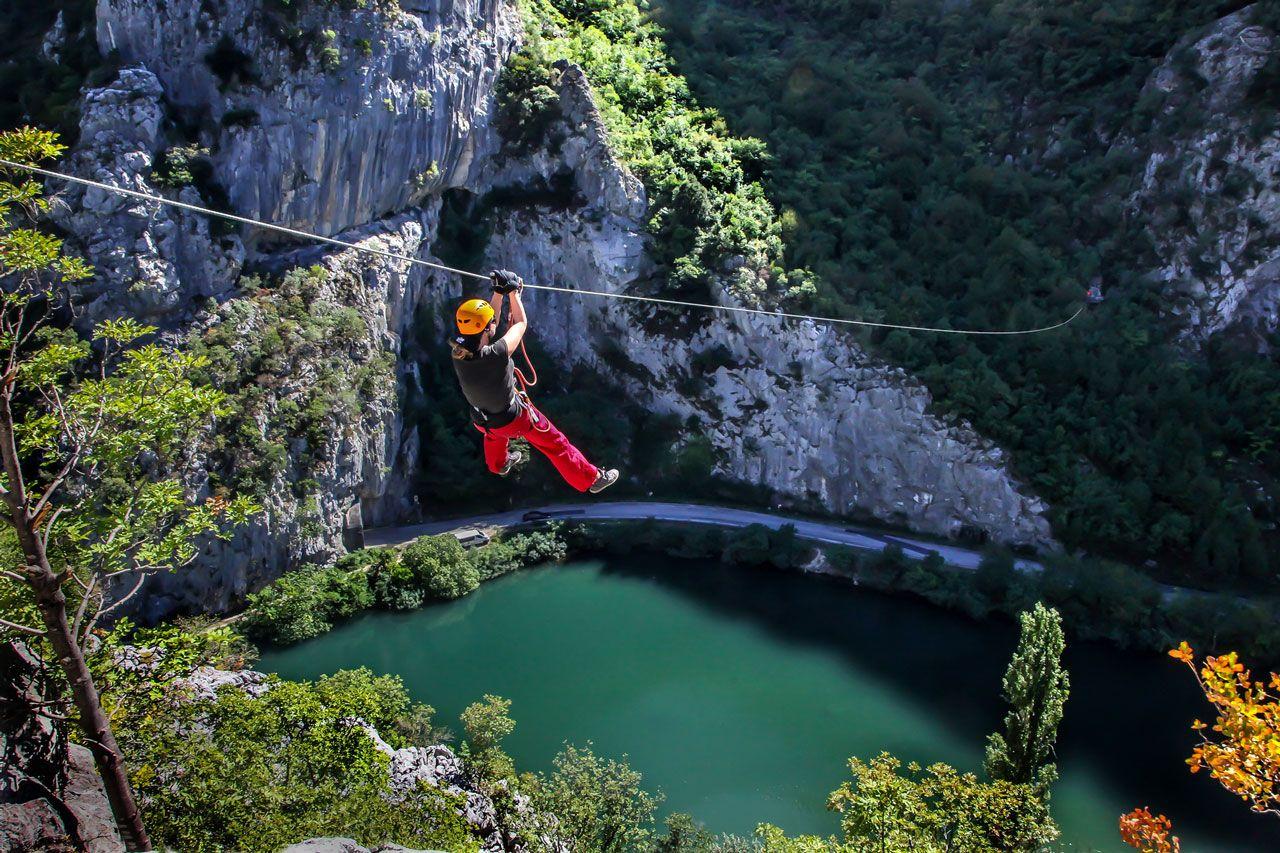 Adventure tourism Omis, Split, Croatia Omis croatia