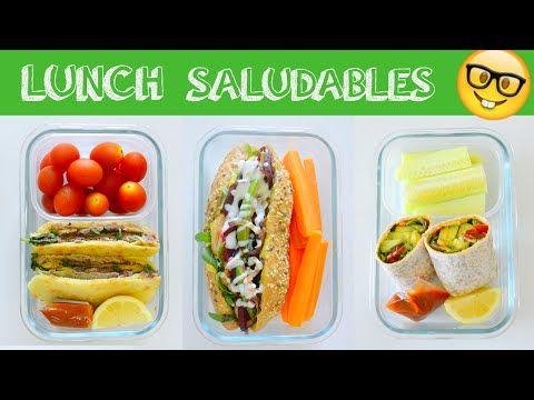 Almuerzos saludables f ciles r pidos y d e l i c i o s o s youtube consejos saludable - Almuerzos faciles y rapidos ...