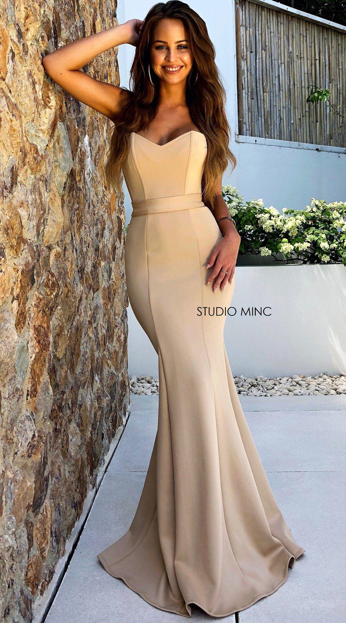 42cc1a609ab Nude III - Formal Prom Dress by STUDIO MINC