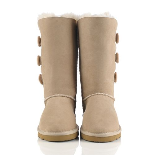 e1e2917702f UGG Cyber Monday 1873 Bailey Button Triplet Sand Boots Deal | UGG ...