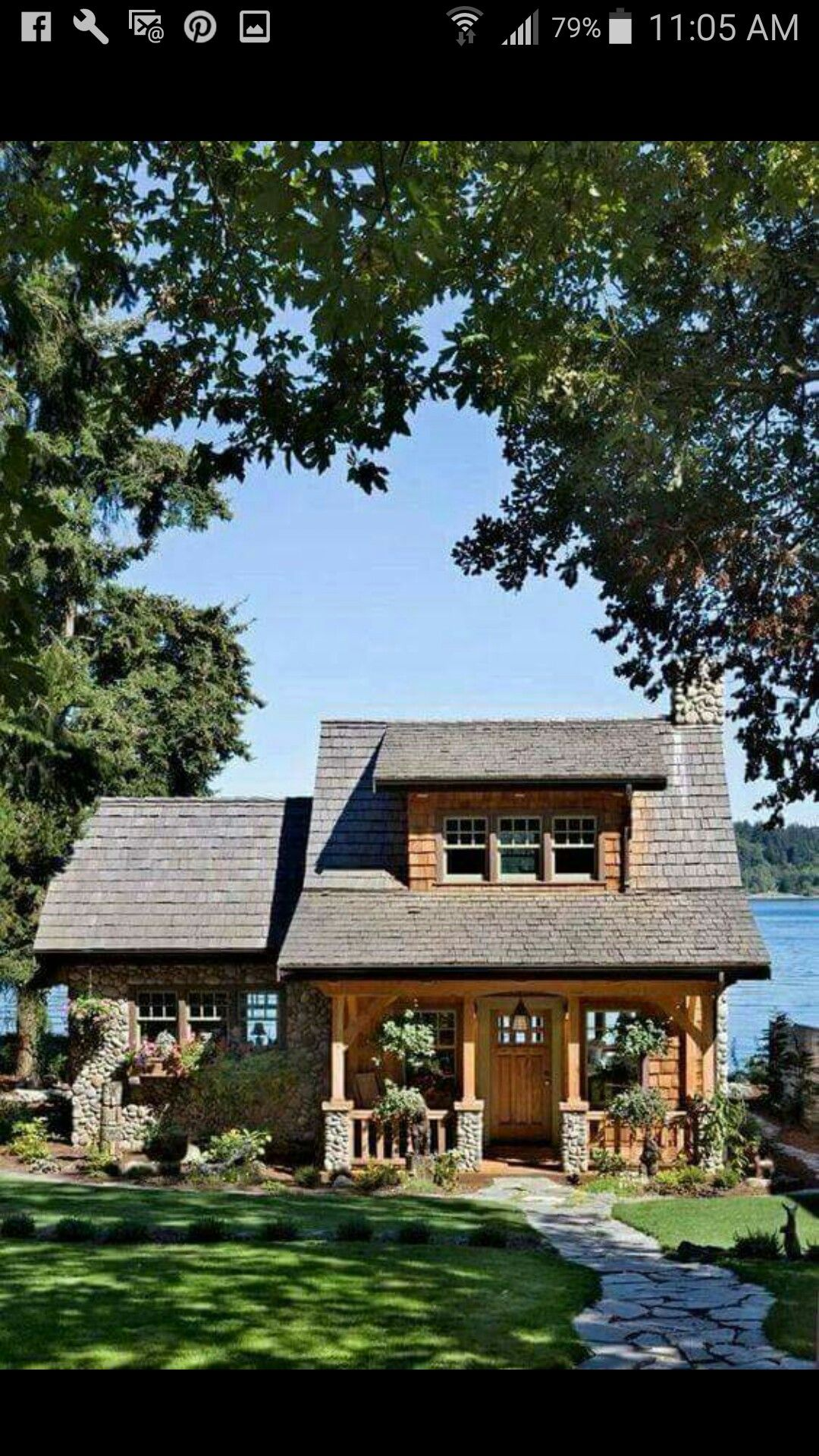 Tiny homes cottage country - A Well Designed Pacific Coast Cottage With A Lake View Cabin Living