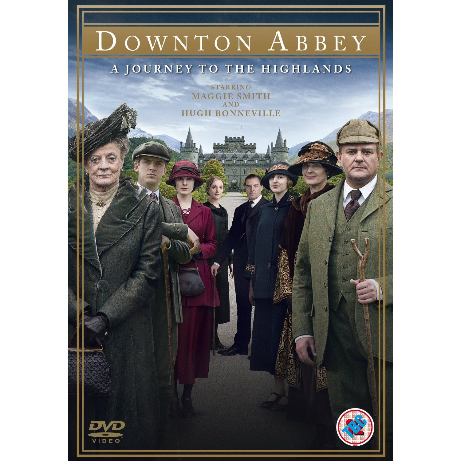 Downton abbey a journey to the highlands christmas