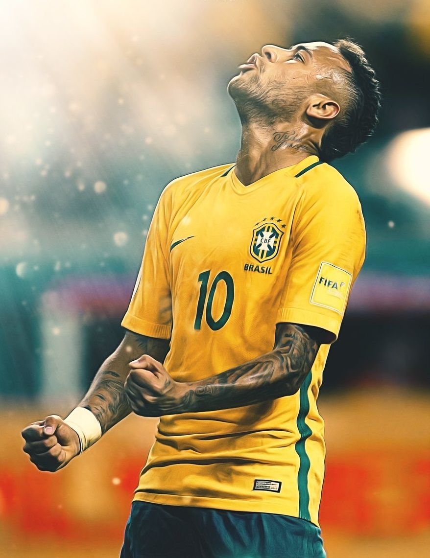 Neymar da Silva Santos Júnior, commonly known as Neymar or