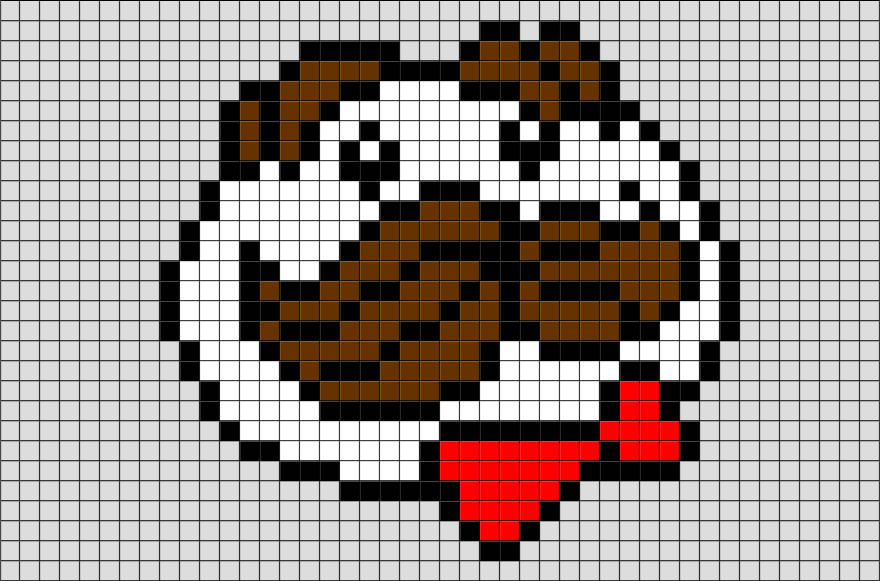 Pringles Pixel Art Cross Stitch Patterns Easy Pixel Art