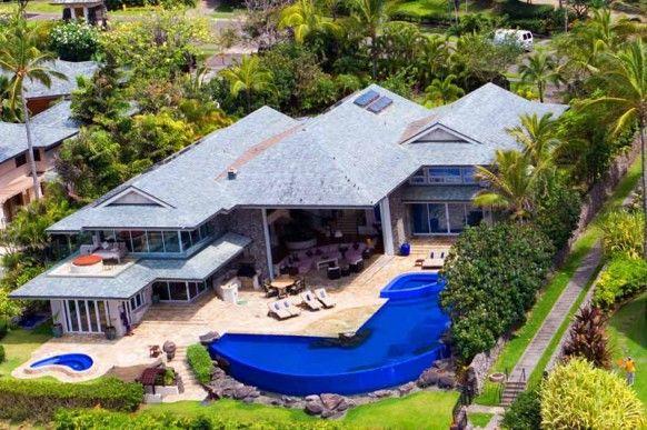 Tiger woods gorgeous hawaiian villa