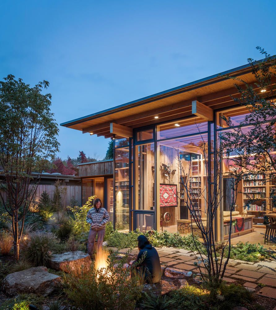 Gallery Of City Cabin Olson Kundig 18 American Houses Architecture Cabin
