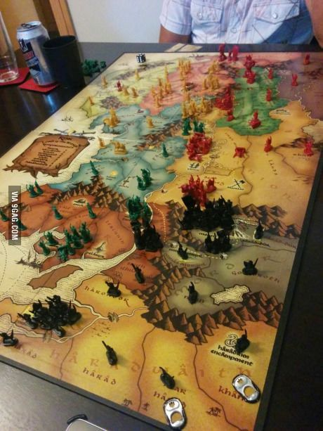 Risk Lord Of The Rings I M Going To Lose Some Friends Retro