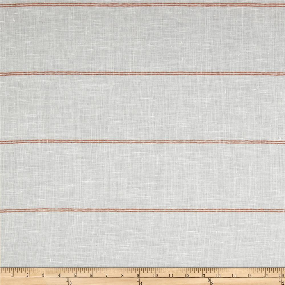 Robert Allen Promo 118 Curtain Call Semi Sheer Adobe From Fabricdotcom This Linen Blend Extra Wide Fabric Is Lightweight And