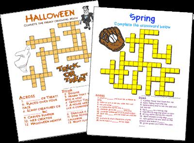 Generador de Crucigramas Crossword puzzle maker, Puzzle