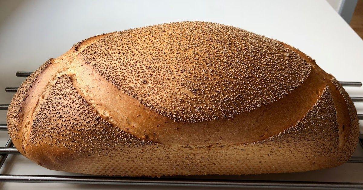 Hvid Hvede Brød Bagt I Hul Form Ingredienser ét Brød 275 G