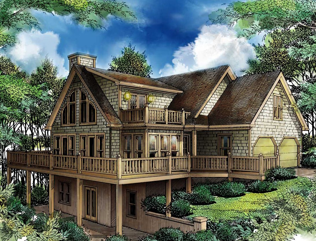 Plan 26620gg Bring Outdoors In House Plans