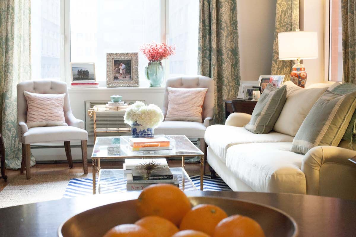 PEEK INSIDE NYC Manhattan Living Room Of Caroline Knapp House Harper Apartment