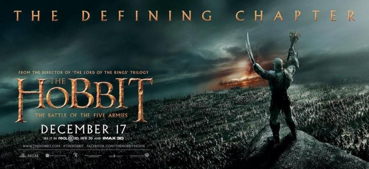 More The Hobbit: The Battle of the Five Armies Posters Released