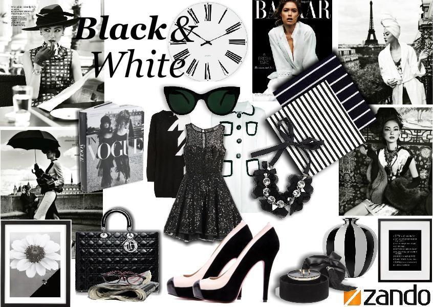 Rosslyn Tebbutt S Blackwhite Moodboard Classic Black White Vintage Inspired Wedding Black White Fashion
