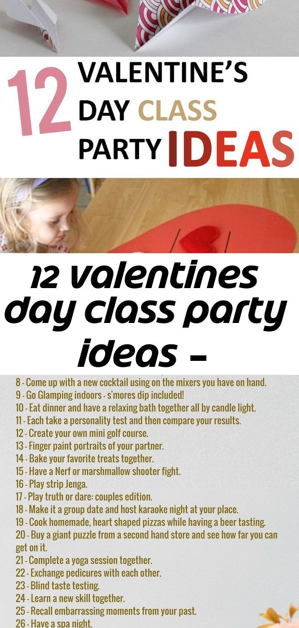 12 valentines day class party ideas –