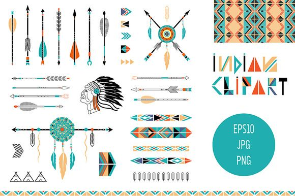 Indian Arrow Graphic