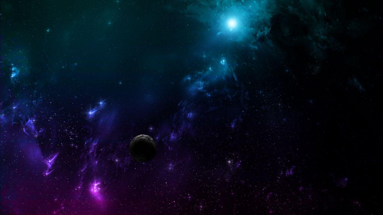 Oboi Galaktika Vselennaya Kosmos Planety Raznocvetnyj Kartinki