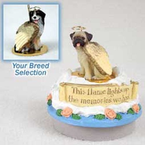 Bernese Mountain Dog Candle Topper Angel