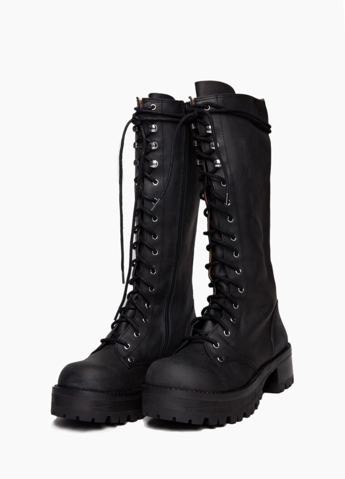 Wasteland Shoes Shopwasteland Com Jeffrey Campbell Radar Combat Boot