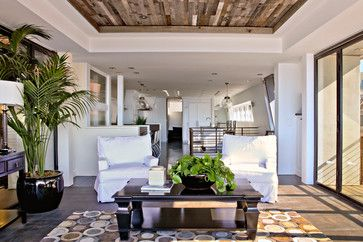 Reclaimed Wood Tray Ceiling Design Ideas Pictures Remodel And