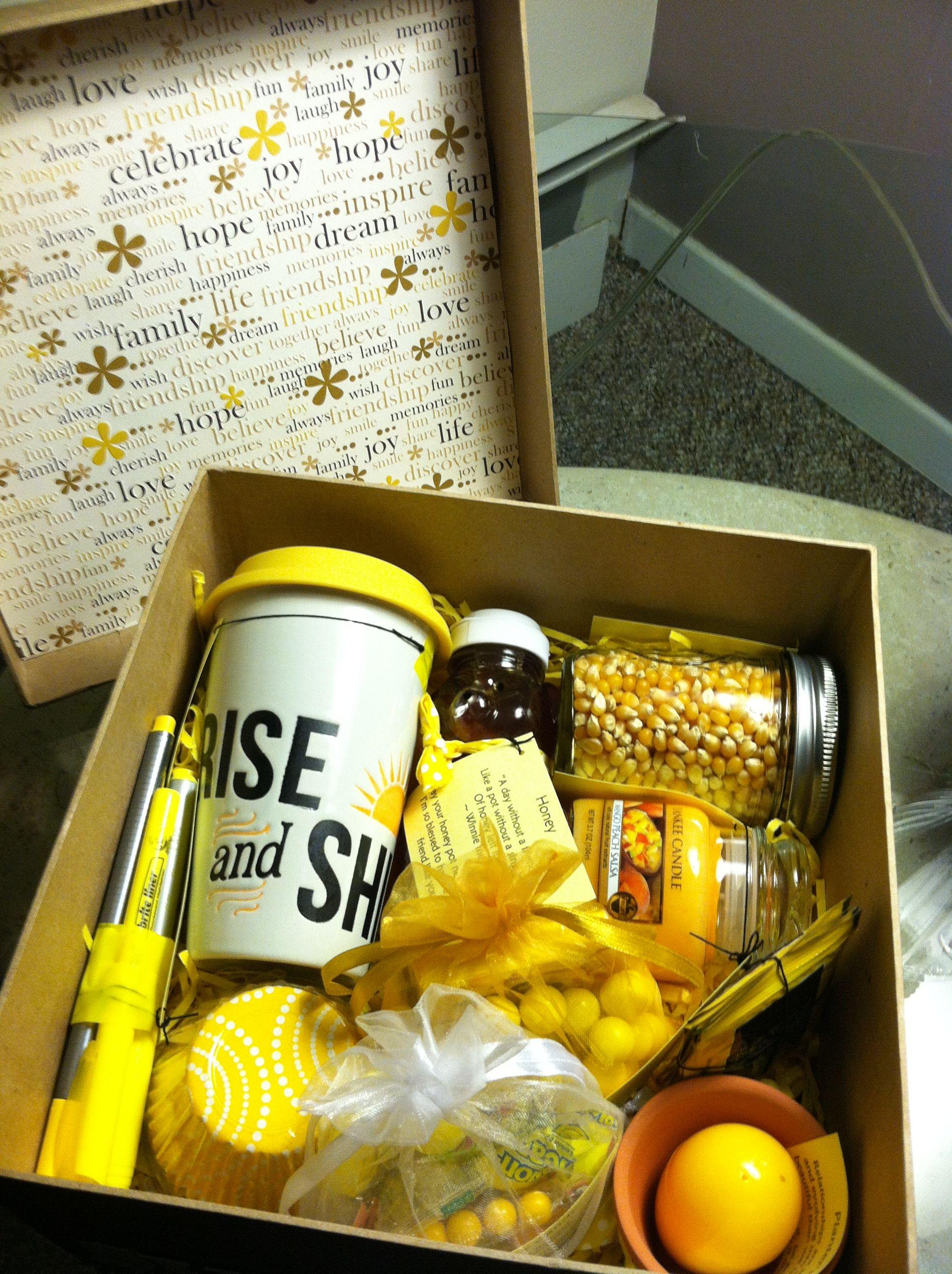 Little Box of Sunshine to brighten someone's day