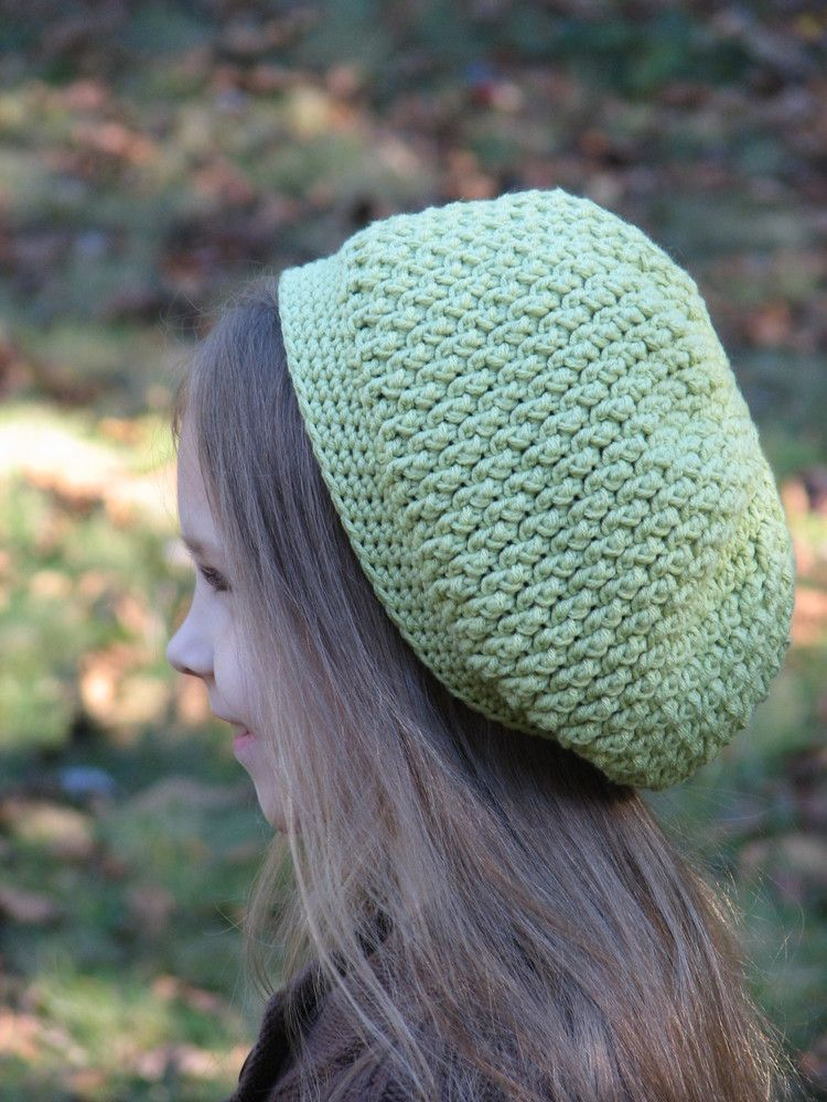 free crochet slouch hat patterns | Ambassador Crochet — Slouchy ...