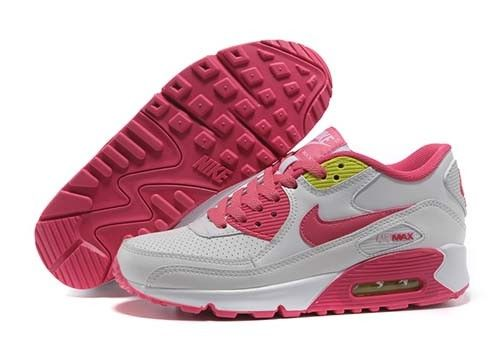 61173ef7bf8 Nike Air Max 90 Womens Leather Black Pink Running Cyber Monday