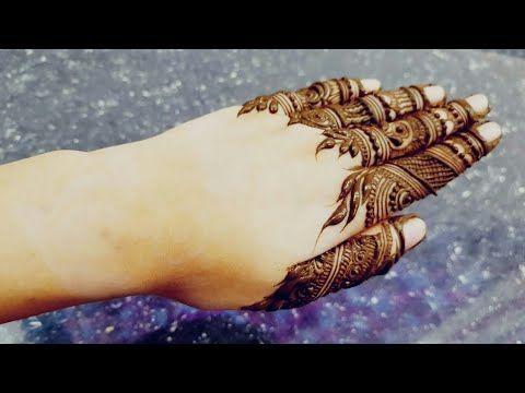 Ramazan Special Mehndi Design 3 2018 Heena Vahid Youtube