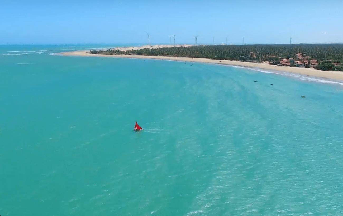 Icaraizinho de Amontada visão aérea - Icaraizinho de Amontada - Ceará |  Ceara, Fortaleza ceará, Praia