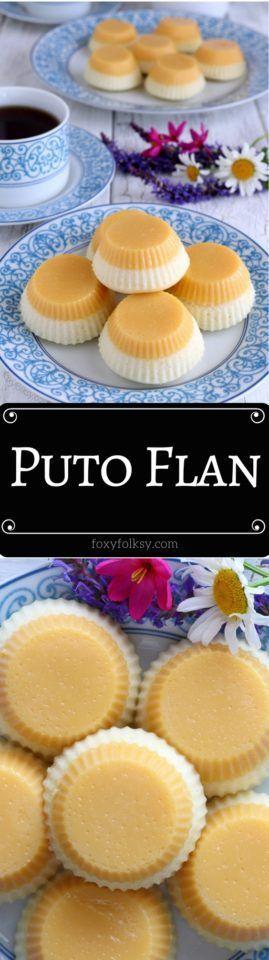 Puto flan - Kelly Ramsay - Puto flan        Two loved Filipino dessert in one! P...