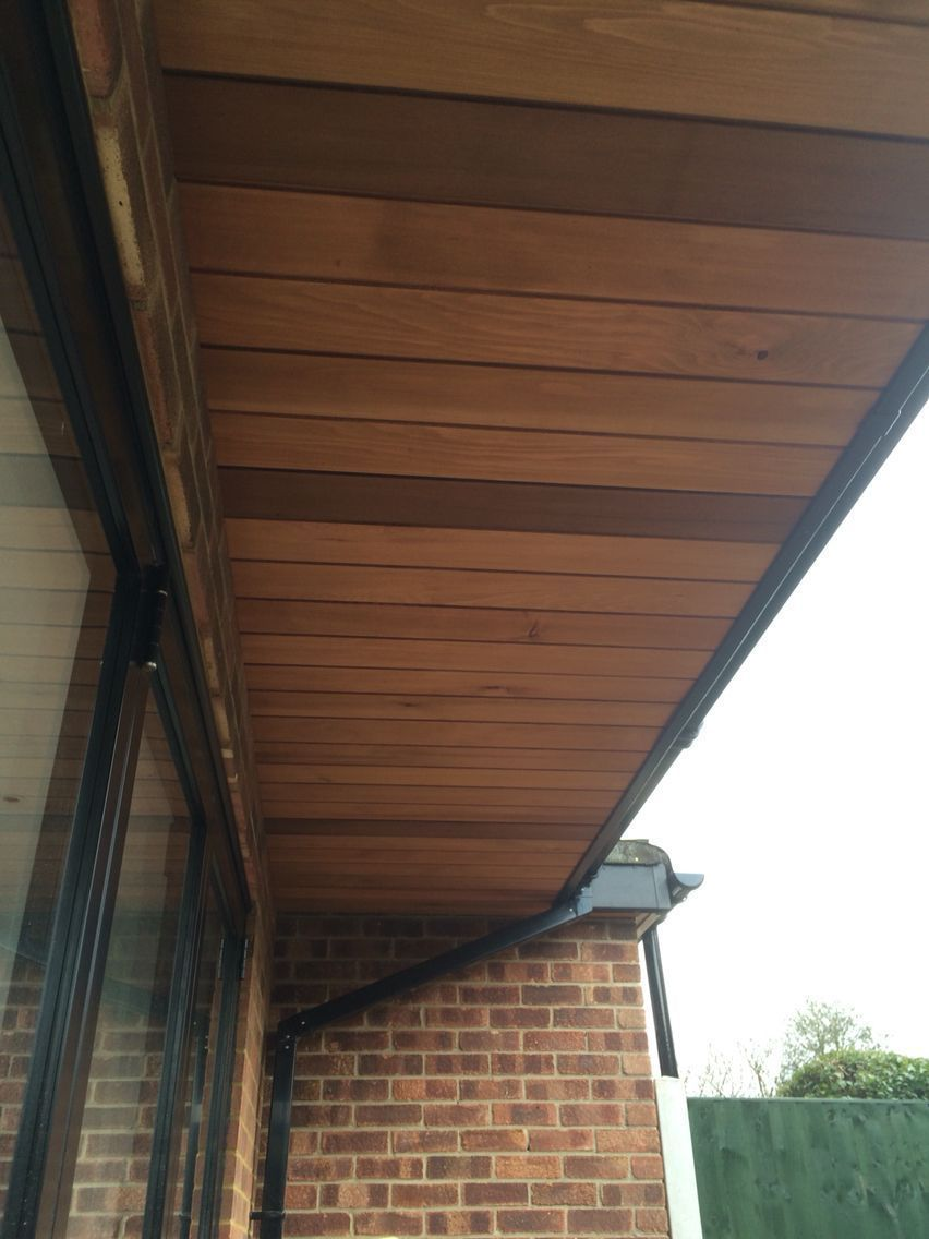 11 Roof Soffit Ideas When Rain Can Spin Your Brain Cakhasan Roof Soffits Wood Cladding Exterior Wooden Cladding Exterior