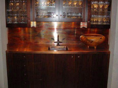 Copper Countertops Sinks Counter Tops Amp Backsplash Rd