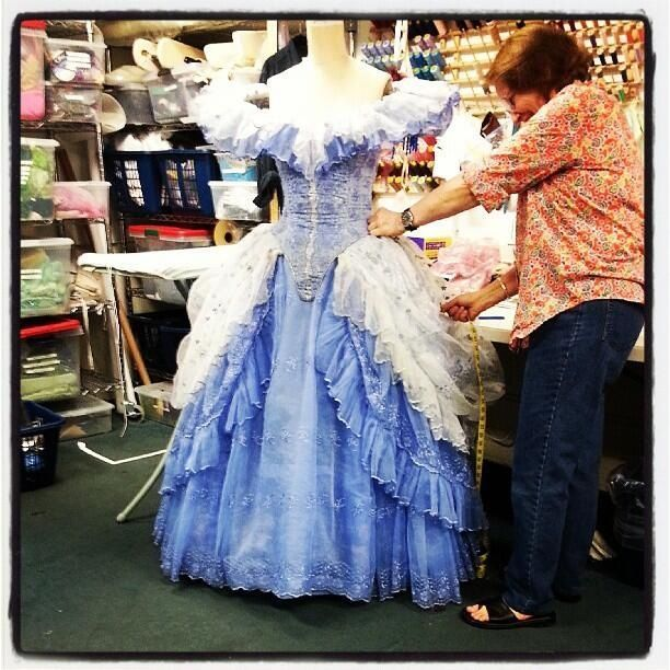 cinderella costumes broadway | costume from Rodgers and ...