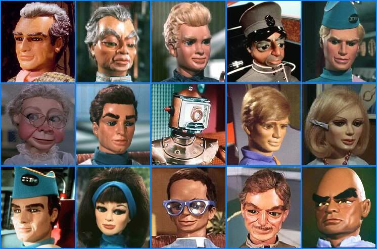 the cast of the thunderbirds muppets amp puppets