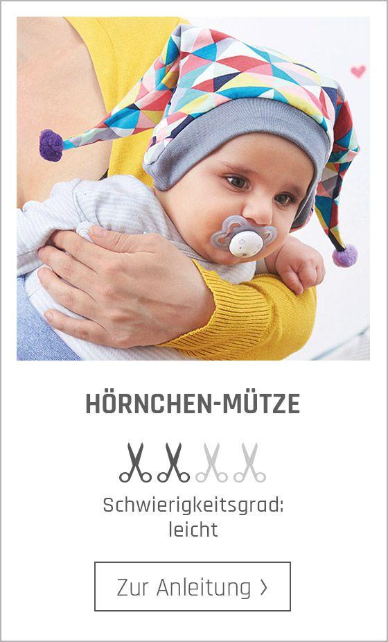 Kindermütze Nähanleitung
