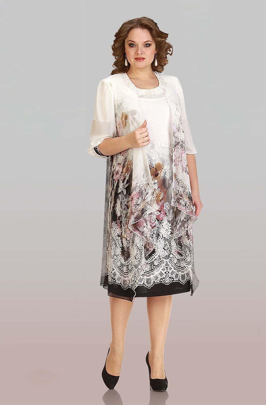 f7560ab4b92 Летние платья для женщин 50 лет (40 фото)  фасоны и модели