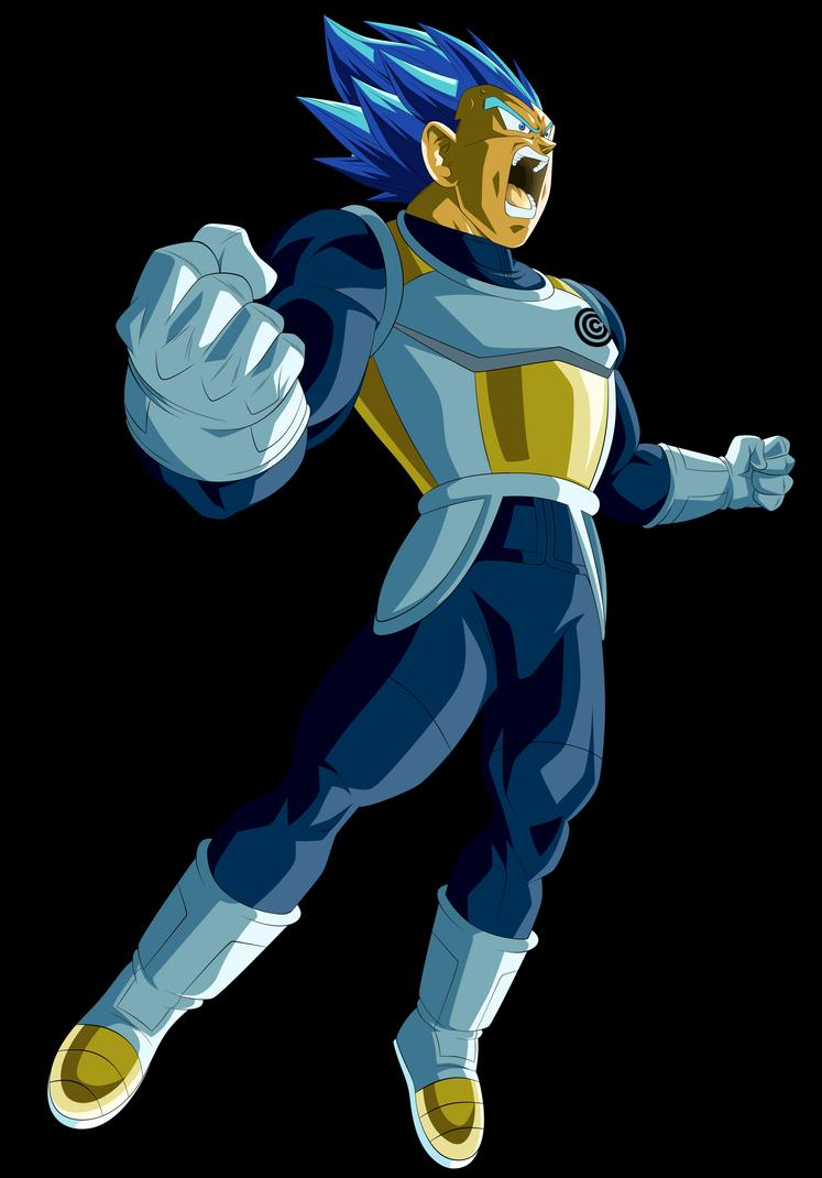 Vegeta Cc Super Saiyan Blue Evolution Dragon Ball Super Goku Dragon Ball Z Dragon Ball Super