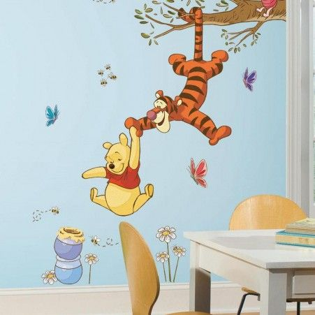 Winnie The Pooh Bear Honey Wall Decals For Kids