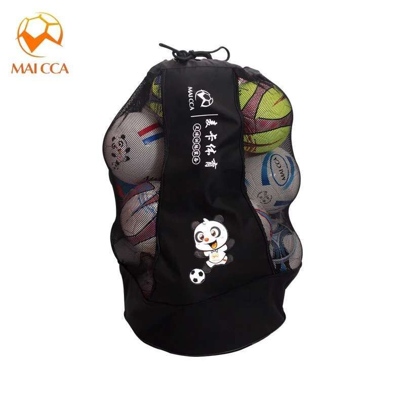 Maicca Volleyball Balls Bag Backpack Super Big For Football Basketball Soccer 25 Pcs Fit Ball Net Bags Sports T Football Ball Basketball Training Training Bags