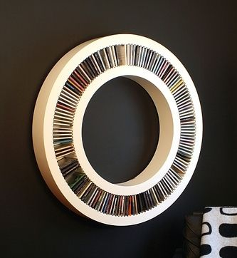 interesting cd rack designs stuff to buy pinterest cd aufbewahrung aufbewahrung und dvd. Black Bedroom Furniture Sets. Home Design Ideas