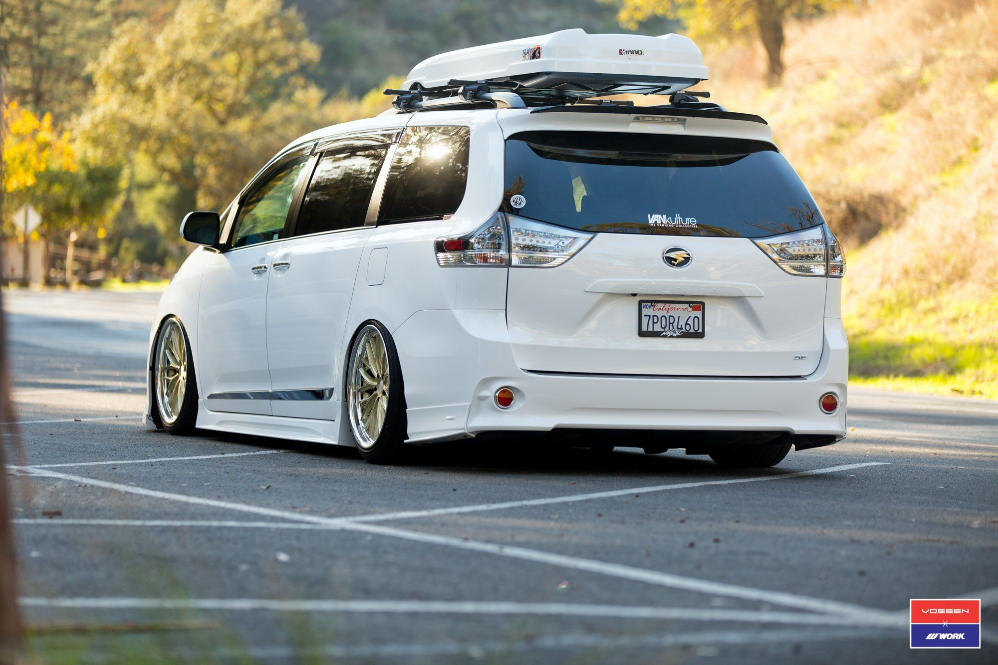 Dropped Toyota Sienna With Custom Accessories To Stand Out On The