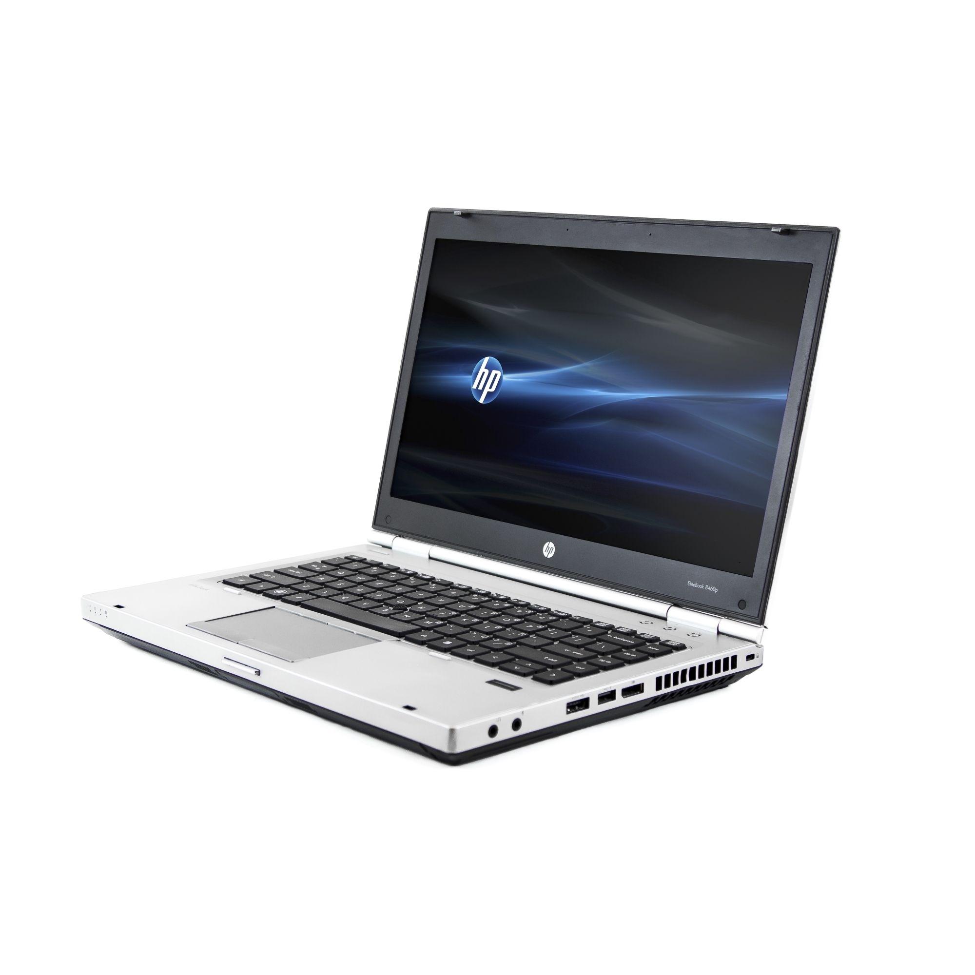 HP EliteBook 8460P 14-inch 2.5GHz Intel Core i5 16GB RAM 750GB HDD Windows